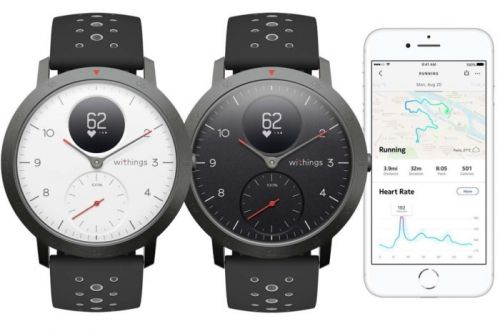 Withings is back with the Steel HR Sport, a connected GPS hybrid watch that lasts 25 days