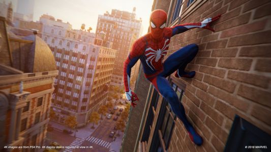 New York shines in Sony's new 'Spider-Man' game