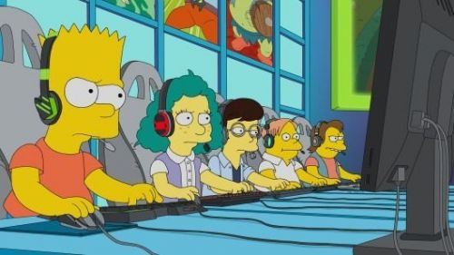 The Simpsons gets round to poking fun at esports