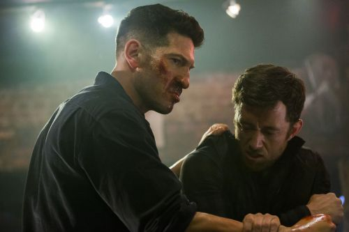 In season 2, The Punisher feels like he's trapped in the past