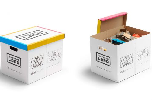 Nintendo's cardboard Labo box teaches you the joy of cleaning up