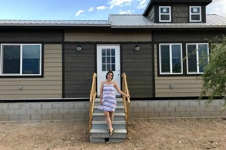 A school district subsidizes a tiny home community for teachers