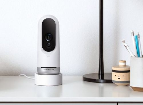 Lighthouse AI security camera takes on Nest