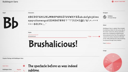 23 amazing free Google web fonts