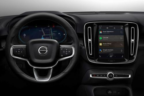 Electric Volvo XC40 runs Android Automotive OS, with Google Play, Maps and Assistant