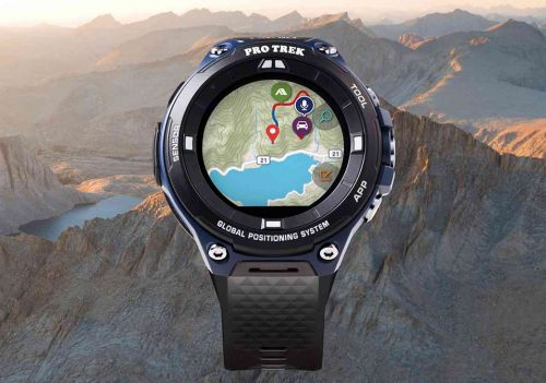 Casio WSD-F20A is a new Wear OS smartwatch with a rugged design