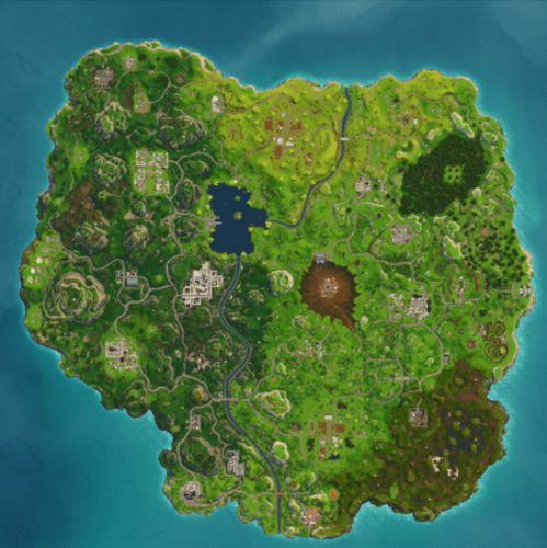 Fortnite Season 5 Map Changes, Hi-Res Map, List of New Locations
