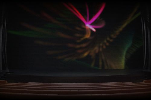 Apple is teasing tomorrow's show time event with a 'live stream' of the Steve Jobs theater