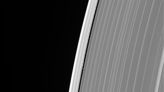 NASA's Cassini captured an unexplained Saturn 'glitch' before its fateful dive