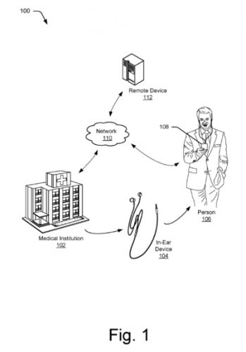 Google Patents Headphone-Based Health Monitoring Tech