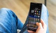 Sony Xperia 1 screen works in 4K all the time