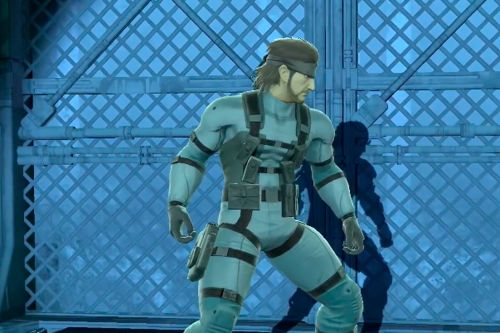 Smash Bros. Ultimate fans can't stand Snake's redesigned butt