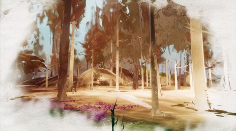 Ramble Allows Players To Walk Through Gorgeous Paintings