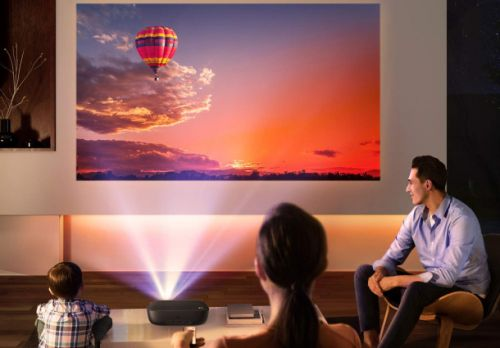 Transform your smartphone into a portable home theater with this $60 mini projector