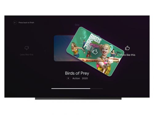 Android TV borrows from Tinder to give you better content recommendations
