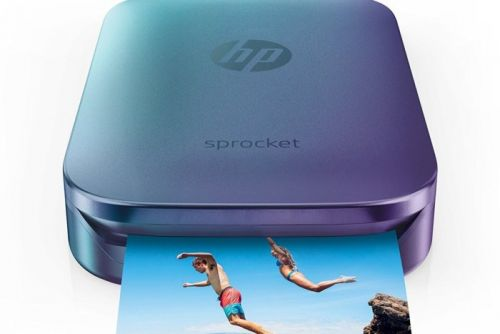 HP's Sprocket Photo Printer makes easy, fun snapshots and has a $40 discount today