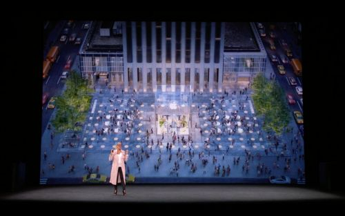 Apple will rebuild its iconic glass cube in New York City
