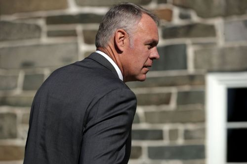 Trump's Interior Secretary will step down at the end of the year