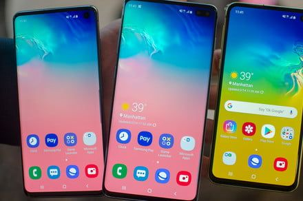 Samsung beefs up just about everything in its Galaxy S10 smartphone range
