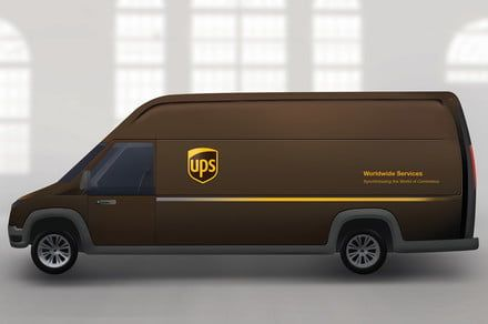 Big Brown goes green as it explores ways to make emissions-free deliveries