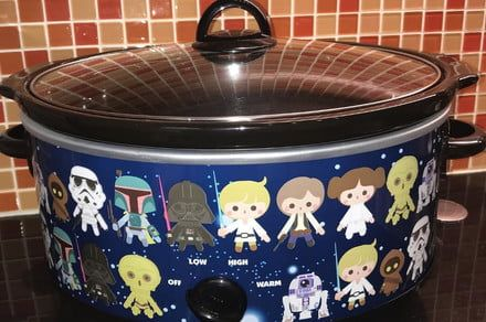May the force cook with you: New slow cooker sports Star Wars figures