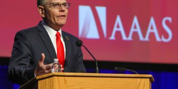 New White House Science Advisor Outlines His Goals at AAAS Annual Meeting