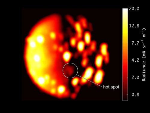 Jupiter's moon Io is covered in volcanos, and astronomers may have just spotted another one