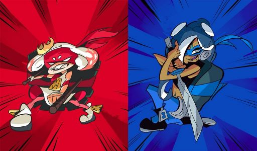 Raphael Goes Against Leonardo In TMNT Splatfest This Weekend