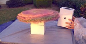 YouTuber built glitter bomb in HomePod box to thwart package thieves