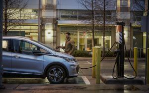 GM Stations Chevrolet Bolts in Austin for Maven Ridesharing