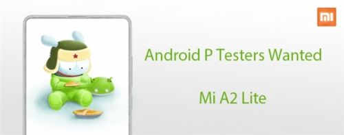 Xiaomi A2 Lite is recruiting Android 9 Pie Beta testers