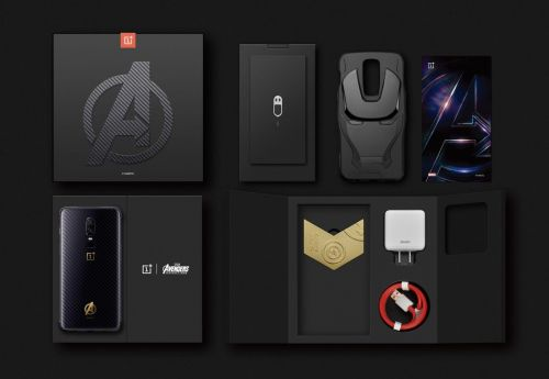 Feast your eyes on the OnePlus 6 Avengers edition