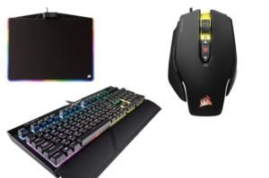 Grab a Corsair gaming keyboard, mouse, and mousepad for nearly $100 off at Amazon today