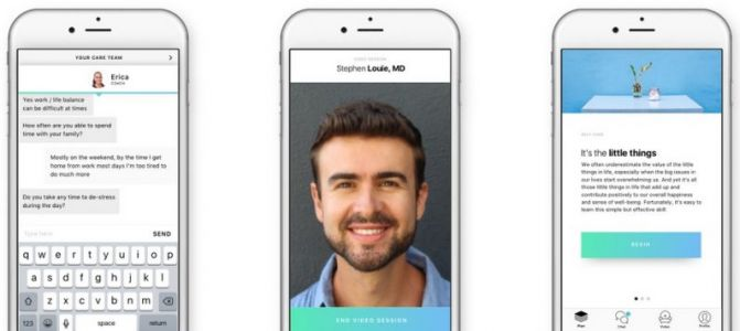 This app gives you 24/7 access to mental health care professionals