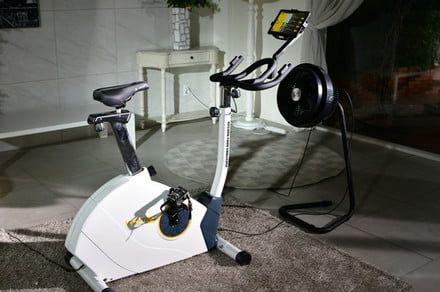 Virchybike Lite wants to make indoor cycling as fun as the outdoor version