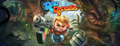 Now Available on Steam - Rad Rodgers, 25% off!