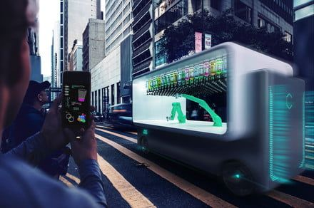 Too buzzed to drive? Don't worry - this autonomous car-bar will drive to you