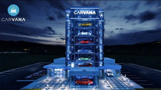 Watch: Pick Up Used Cars at This Giant, Car-Sized 'Vending Machine'