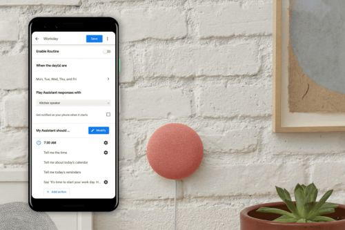 Google Assistant's new Workday routine can bug you to take care of yourself