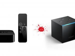 Apple TV 4K vs Amazon Fire TV Cube