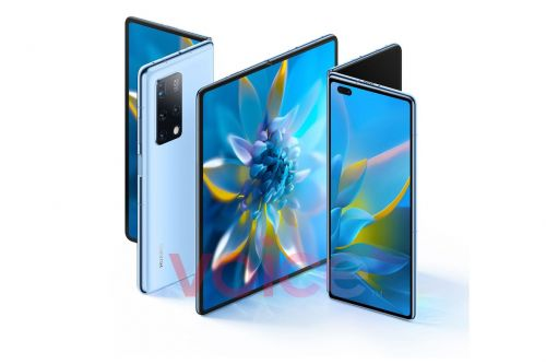 Huawei's foldable Mate X2 leaks just before launch