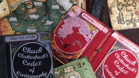 We're Seriously Coveting This Jaw-Dropping Codex of Fantasy Maps
