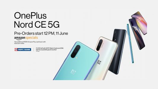 OnePlus Nord CE 5G pre-orders start in India