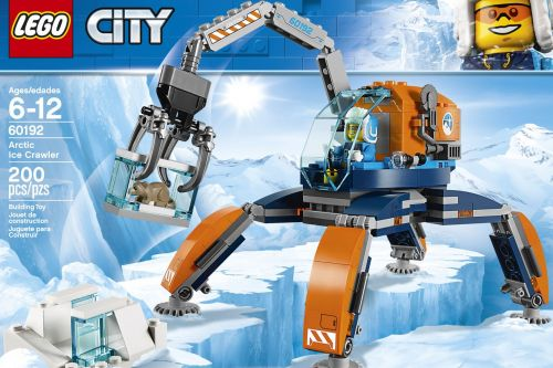Digging mammoths in the Arctic isn't as pretty and sci-fi as this new Lego set suggests