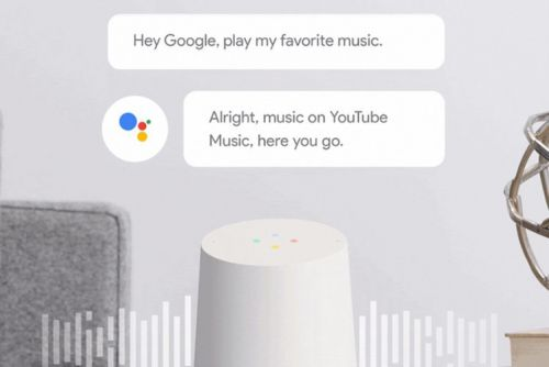 YouTube Music is now available free on Google Home speakers