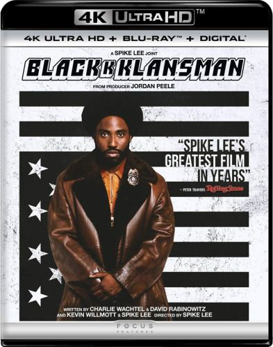 Spike Lee's 'BlacKkKlansman' 4K Ultra HD, Blu-ray, DVD and Digital Release Date and Details