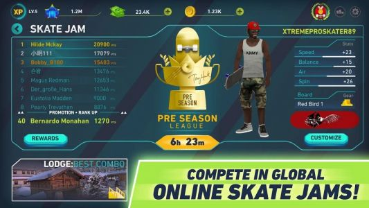 Tony Hawk's Skate Jam Is A Mobile-First Reimagining