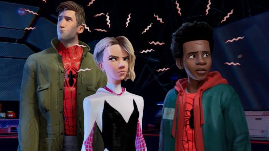 New Photo From SPIDER-MAN: INTO THE SPIDER-VERSE and New Spider-Characters Revealed