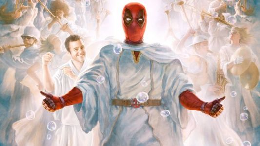 The Latest Poster From ONCE UPON A DEADPOOL Seems To Parody a Painting of Christ Used By The LDS Church