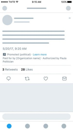 Twitter unveils new political ad guidelines set to go into effect this summer